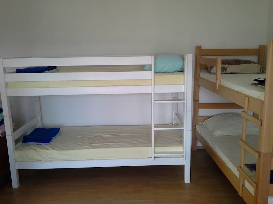 Bunk beds (3 in total)