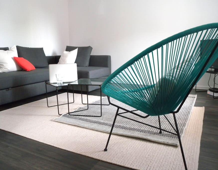 Living room                Day mode