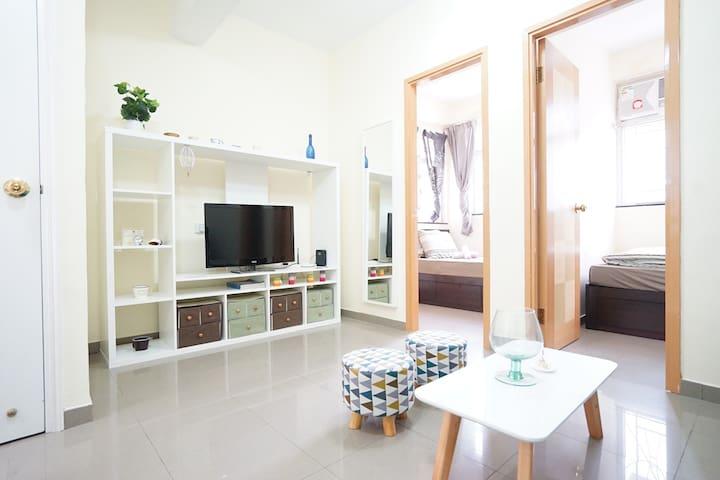 Simple comfy 2br wan chai causeway bay apartamentos - Apartamentos en hong kong ...
