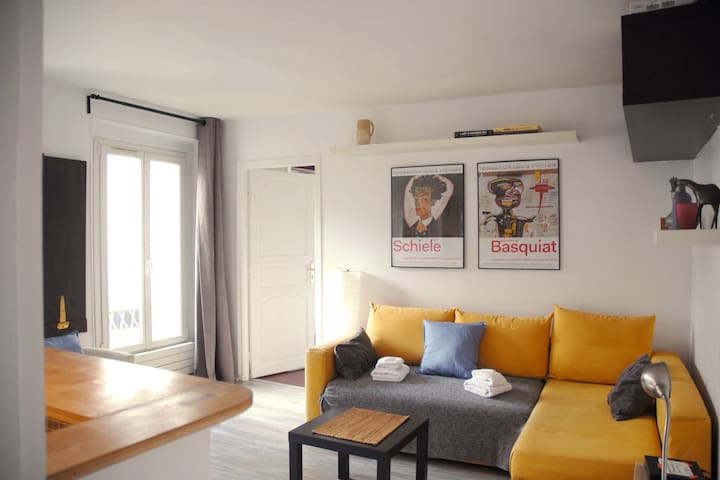Sympathique et tranquille  appartement  à Paris