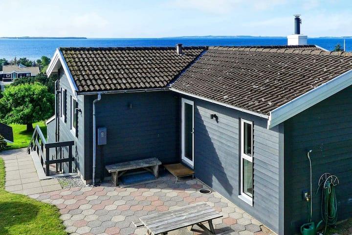 Extravagante casa de vacaciones con piscina en Ebeltoft