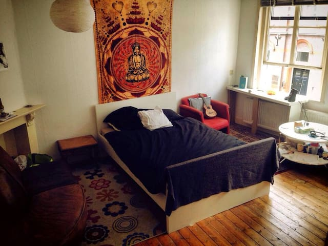 Beautiful room in a monument house! - Utrecht - Rumah