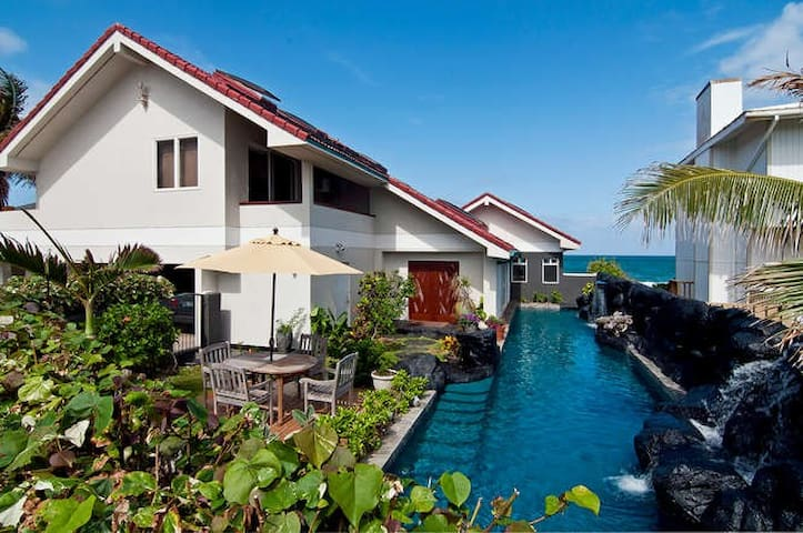 Absolutely Oceanfront Deluxe Kailua-Licensed-Legal - Kailua - Bed & Breakfast