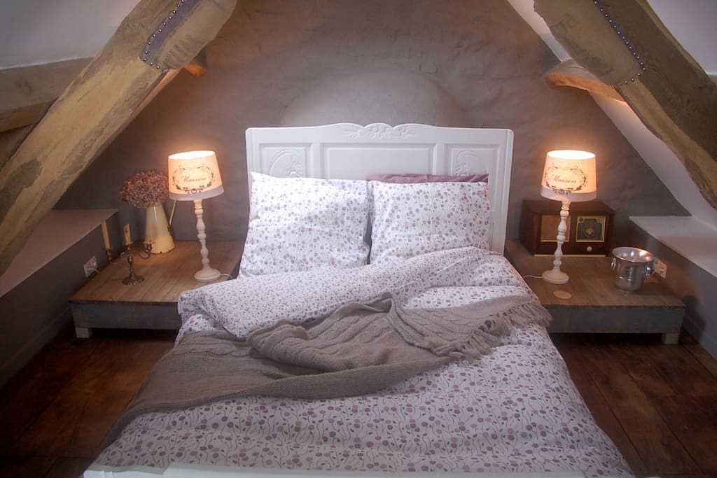 Snuggle up in this sumptuous bed