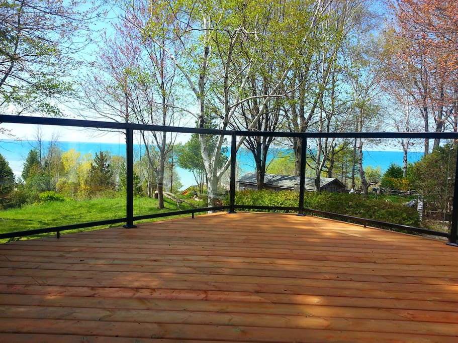 Deck off the Master with stunning views