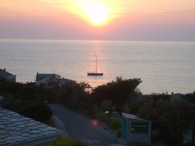 panorama - vue sur mer - Centuri - House