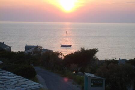 panorama - vue sur mer - Centuri - บ้าน