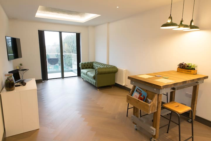 2 double bed flat close to station - Twickenham - Apartment