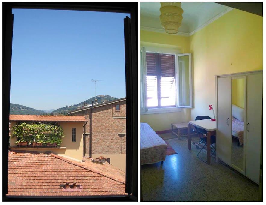Camera e vista - Room & view