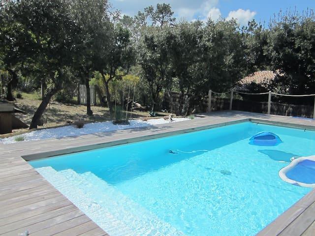 Villa de charme avec piscine chauffée - PYLA SUR MER - House