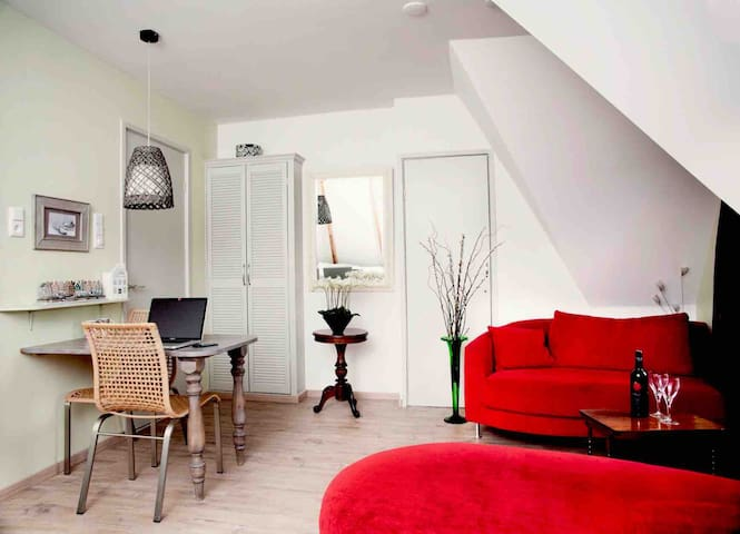 PRIVAT LOFT NEAR SCHIPHOL-AIRPORT AND A'DAM    TOP