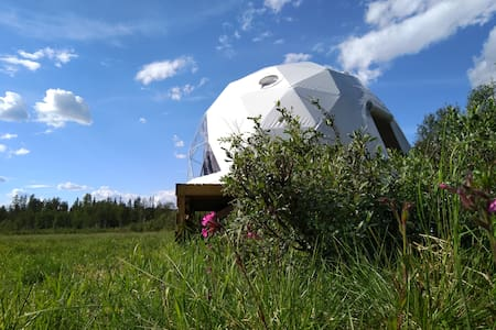 Glamping in Norway - Dome Hotel - Trysil Glamping