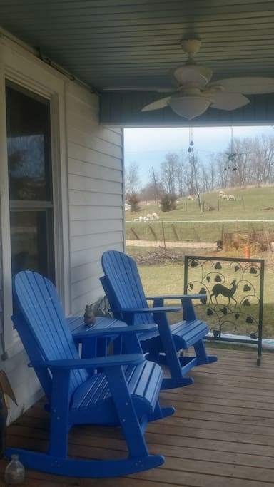 Front porch sitting!!