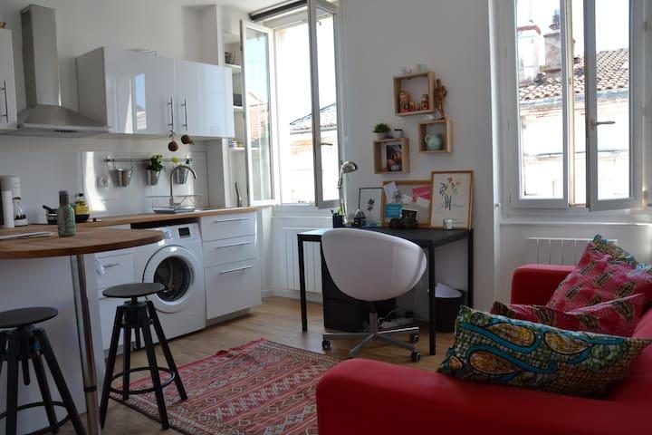 T2 rénové centre ville - Tuluza - Apartament
