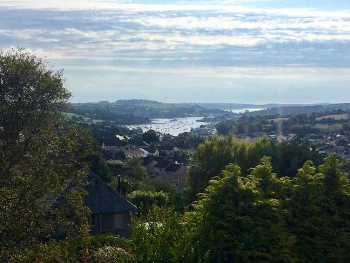 Beautiful Sea Views from apartment near Falmouth