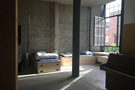 NACHTHAFEN Schlafnische Arbeitsraum - Basilea - Loft