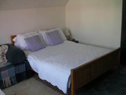 Comfortable double room in Swansea