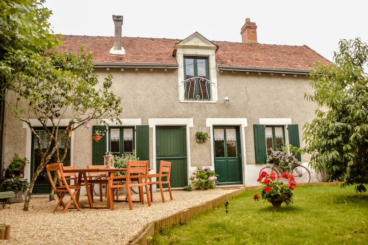 Cottage des Sablons - Saint-Romain-sur-Cher - House