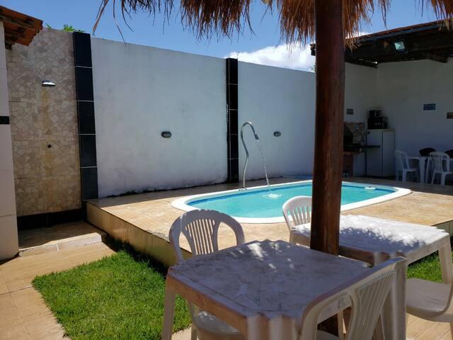 Casa na praia de Tabuba