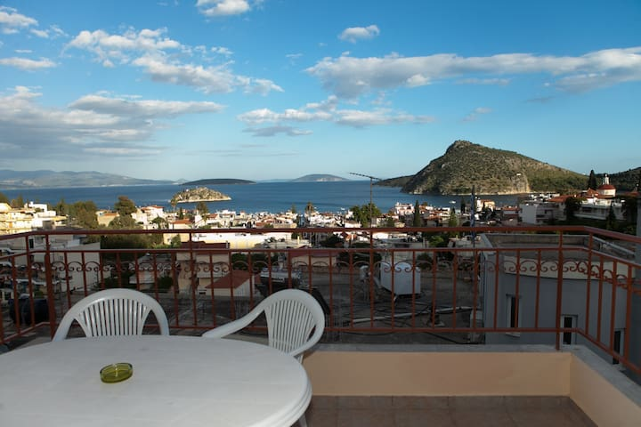 Apartment for 4 Tolo with Sea View - Tolo - Apartamento