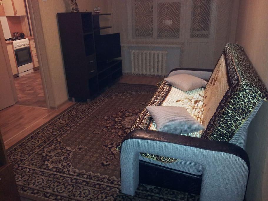 Двуспальный диван-кровать