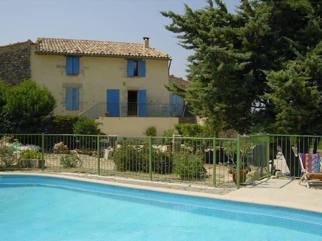 Provencal, Luberon, pool - Saint-Martin-de-Castillon - Villa