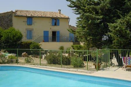 Mas 18ème rénové, piscine Luberon - Saint-Martin-de-Castillon - Villa