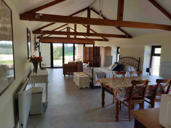A converted barn in beautiful location