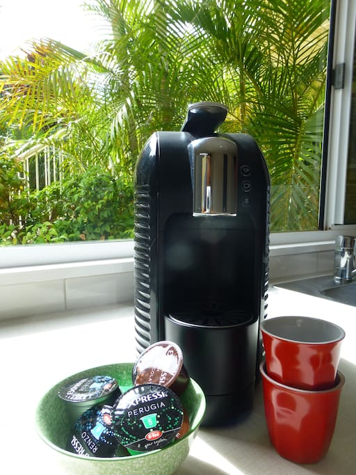 Coffee pod machine for that morning 'pick-me-up'