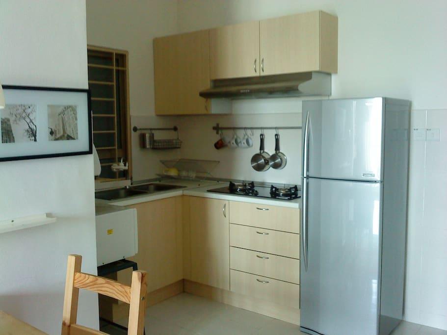 Tidy little kitchen