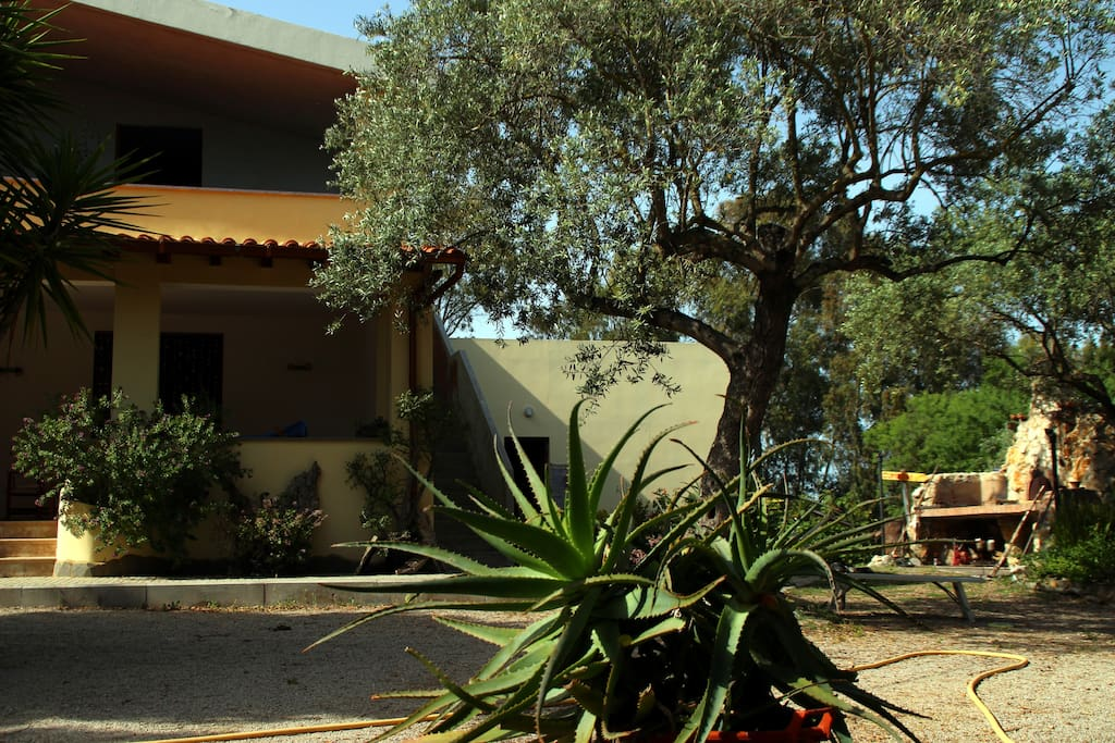 Villa surrounded by green relax chambres d 39 h tes for Chambre d hote sardaigne