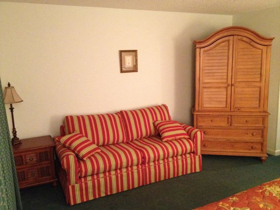 Master Suite Sofa Sleeper and Armoire