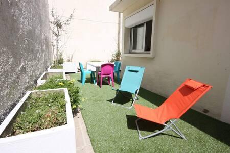Joli 2 pieces a 5 mn du palais avec  terrasse - Cannes
