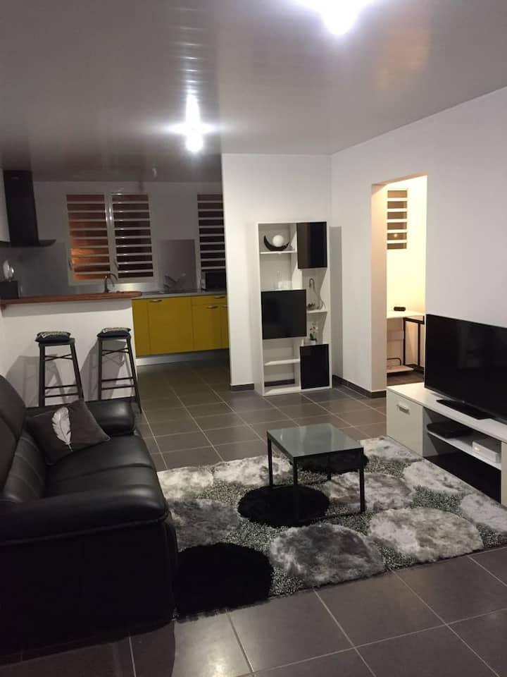 Appartement T2 résidentiel à Rémire-Montjoly
