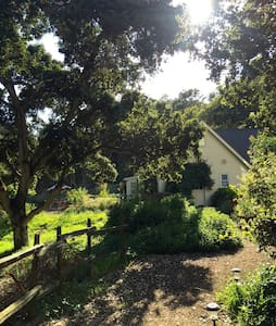 Remarkable Reader's Cottage in the Country - Watsonville - Huis
