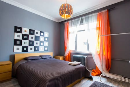 -The flat has takes place in city center, in the heart of Ankara. Very close to old city and famous places of the city. Totally new decoration inside -50 mt to metro station. Direct buses from airport -Near Kızılay Square -7 th Floor  -Wi-Fi