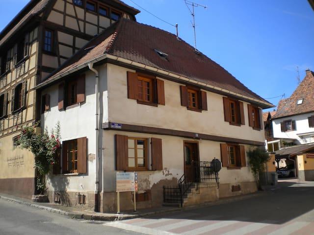 Chambre chez l'habitant - Dambach-la-ville - Rumah