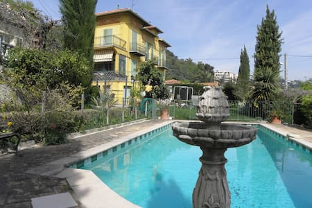 Charming villa, pool and city view - Nizza - Villa