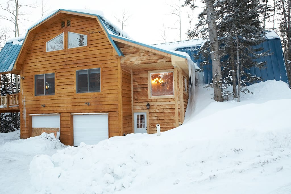 its time to ski at the spruce cabin cabins for rent in