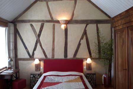 "Chambre d'hôtes ""La Clé des Chants"" - Tauxigny - Bed & Breakfast"