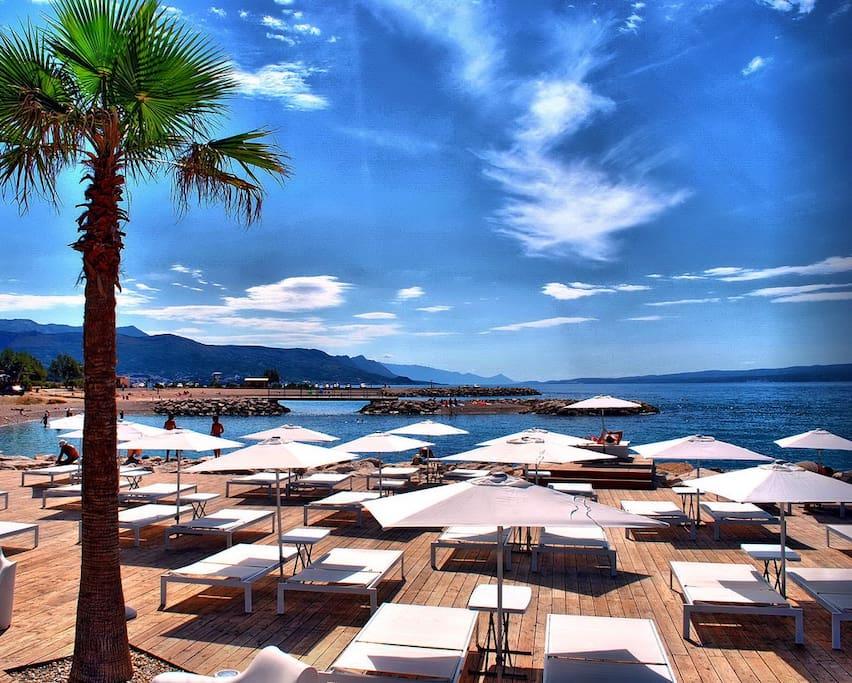Znjan beach, Split