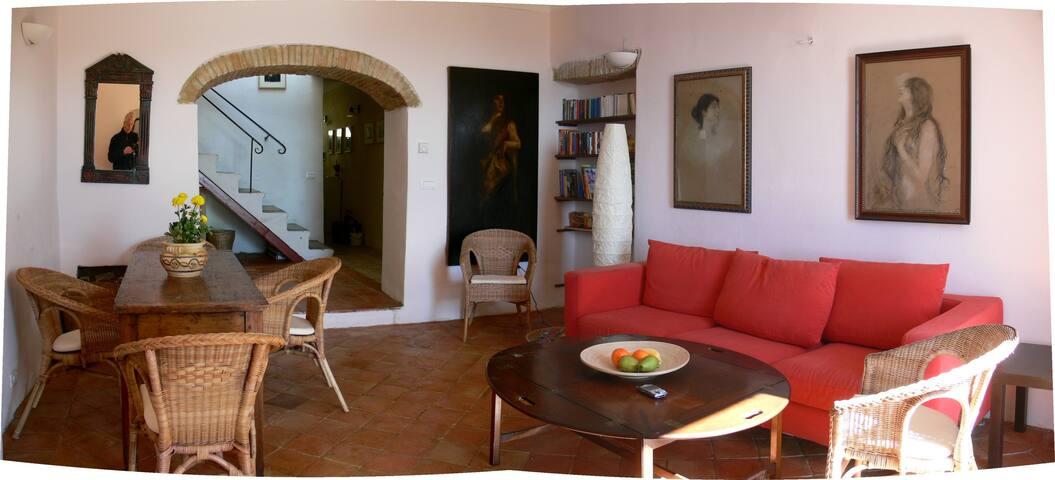 Toskana Ferienhaus für 6 mitten in Roccatederighi - Roccatederighi