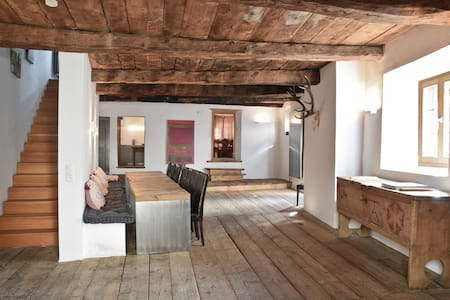 Beautiful historic chalet in Zuoz (near St.Moritz) - Zuoz