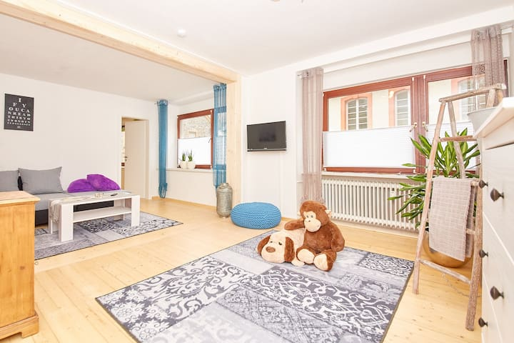 'Thukela' apartment in the heart of Traben-Trabach - Traben-Trarbach - Apartamento