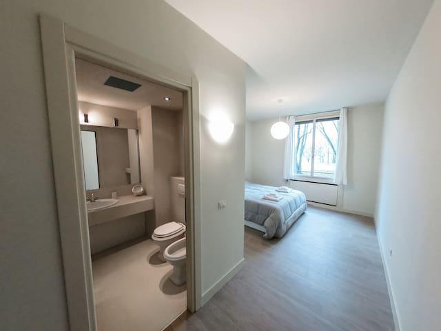 Camera da letto matrimoniale 1 con bagno