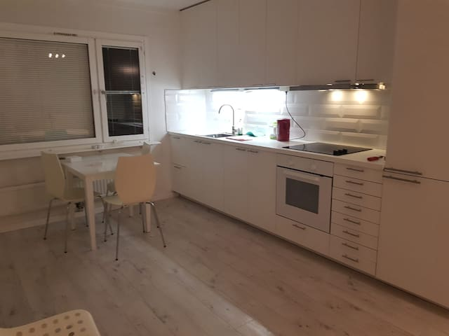 Comfortable apartment with 2 bedrooms, living room