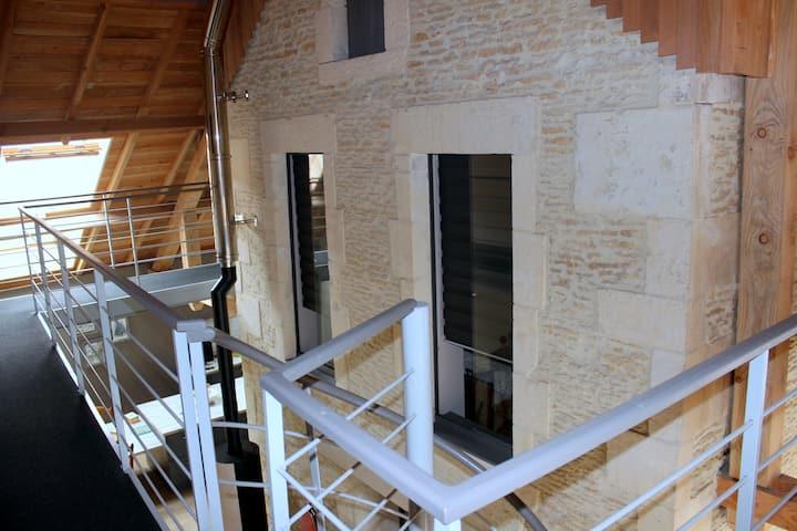 2 chambres d'hôte dans maison architecte Normandie