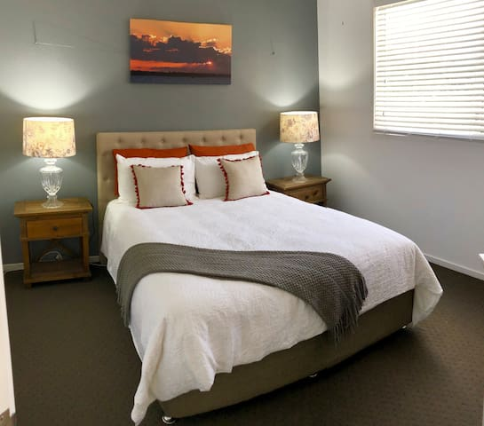 Master bedroom, with walk in robe