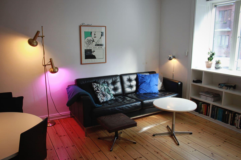 Cool apartment in vibrant Nørrebro