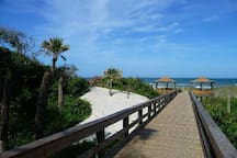 Hanna Park has some of the best public beaches on the First Coast and is about a 40 minute drive.